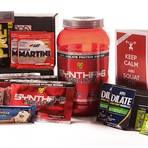 JackedPack Monthly Subscription Box