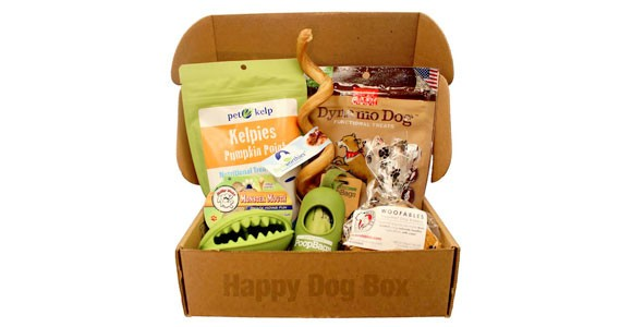 Happy Dog Box Monthly Pet Subscription Box
