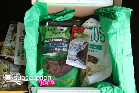 Healthy Surprise Monthly Subscription Box
