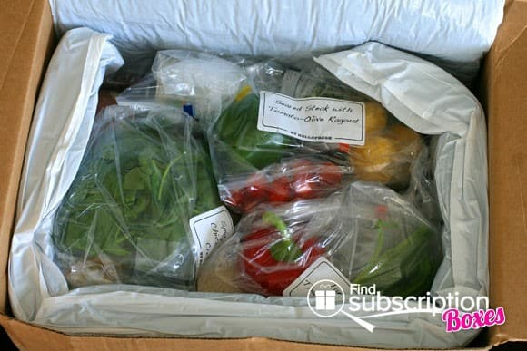 HelloFresh Food Subscription Box - Inside the Box