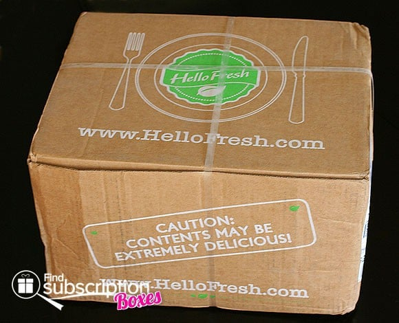 HelloFresh Food Subscription Box