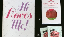 A Closer Look: September 2013 StudioWedBox Review – Bridal Monthly Subscription Box