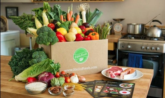 HelloFresh Monthly Subscription Box