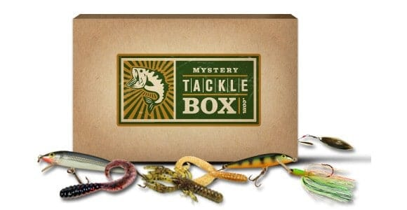 Mystery tackle box monthly fishing subscription box for Fishing box subscription