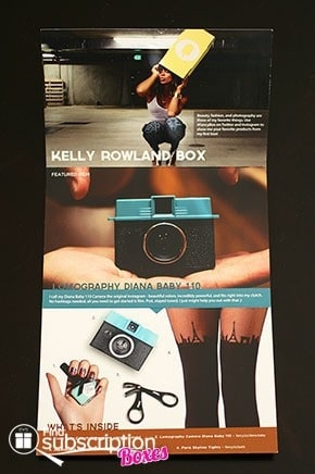 November 2013 Kelly Rowland Fancy Box Review