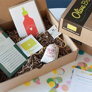 OliveBox Monthly Subscription Box