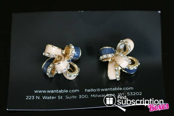 September Wantable Accessories Box - June Earrings