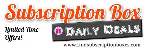 Subscription Box Daily Deals