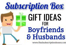 Subscription Box Gift Ideas For Your Boyfriend/Husband