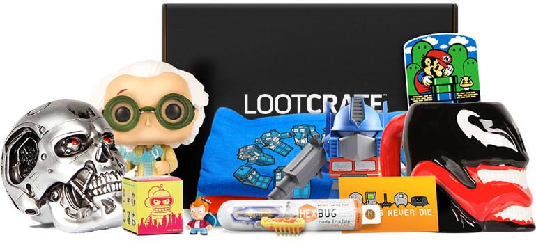 Lootcrate Epic Collectibles Amp Gear Delivered To Your Door
