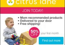 Save 50% Off on Citrus Lane