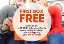 Bulu Box 50% Off + FREE Box