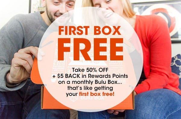 Bulu Box 50% Off + FREE Box