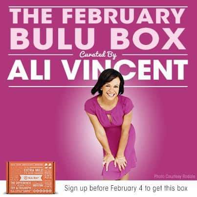 The Biggest Loser Ali Vincent Bulu Box