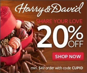 Harry & David Valentine's Day 20% Off