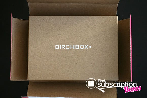 January 2014 Birchbox Monthly Subscription Box