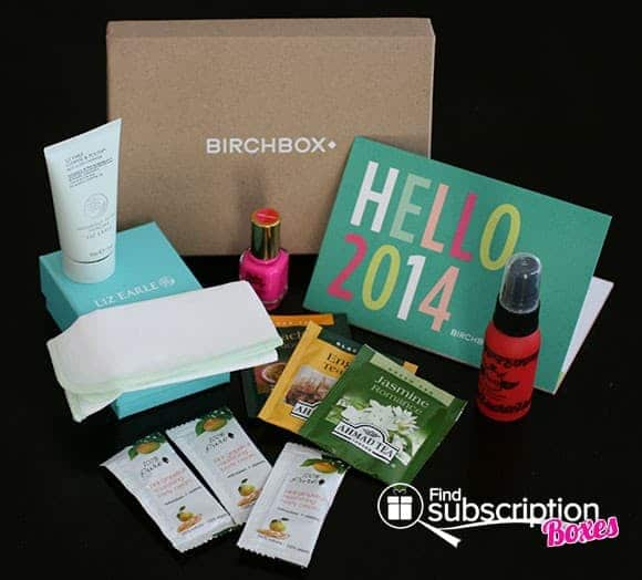January 2014 Birchbox Monthly Subscription Box Review