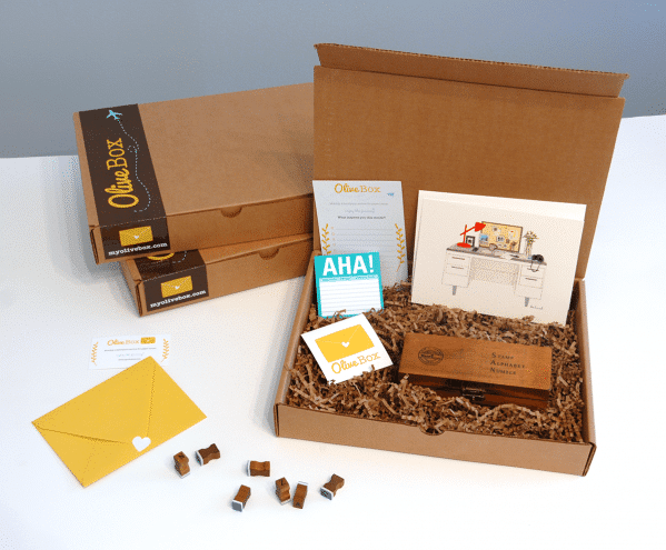 January 2014 OliveBox Monthly Subscription Box