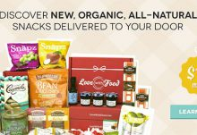 Love with Food Monthly Subscription Snack Box