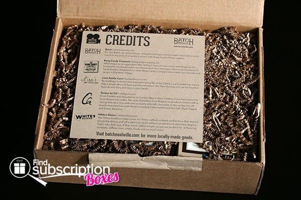 Batch Nashville Box Review - Movie Night - Open Box