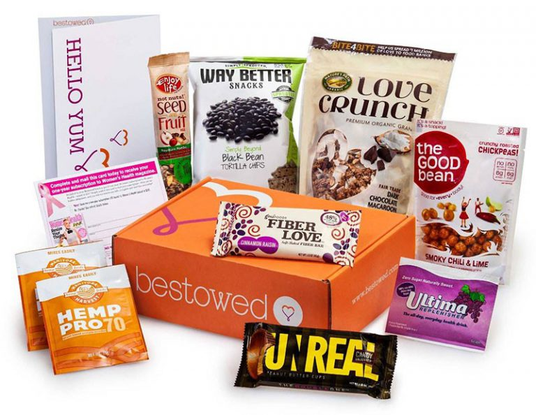 Bestowed Monthly Food & Snack Subscription Box