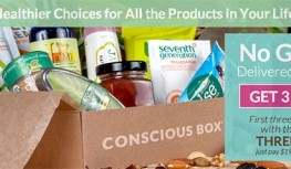Get 3 FREE Conscious Boxes with Code THREEFREE – Just Pay Shipping