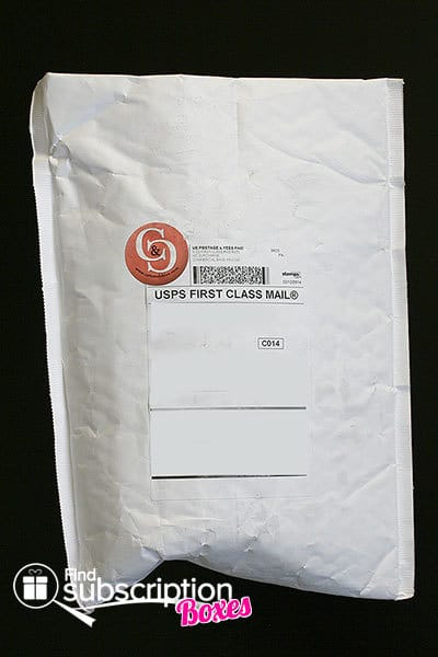 February 2014 Cate & Chloe VIP Box Review - Packaging