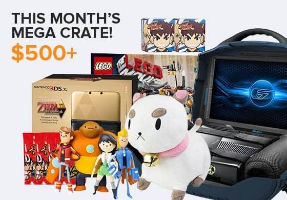 February 2014 Loot Crate MEGA CRATE