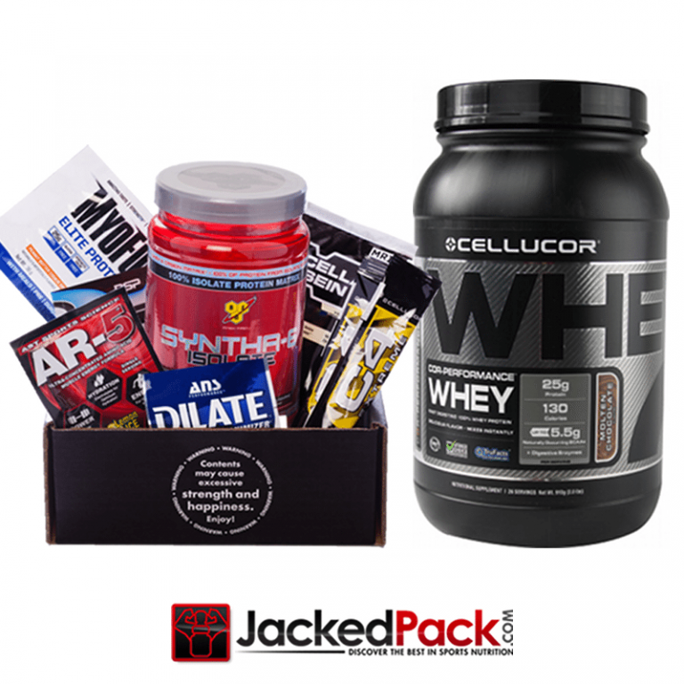 JackedPack FREE 2lb Cellucor Cor-Performance Whey Protein