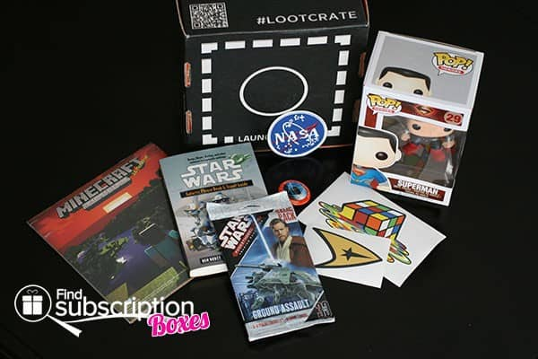 January 2014 Loot Crate Box Review