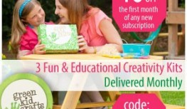 Save 40% Off your 1st Month of Green Kid Crafts with code 40FIRST
