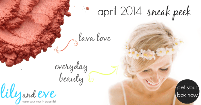 April 2014 Lily and Eve Box Spoilers