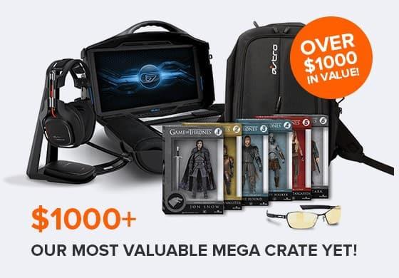 April 2014 Loot Crate MEGA CRATE