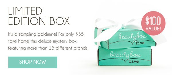 Beauty Box 5 Limited Edition Box