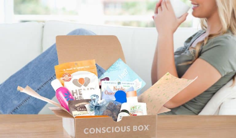 Vegan Conscious Box Monthly Subscription Box