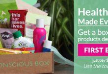 Conscious Box Eco-Friendly Subscription Box