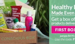 Get a FREE Conscious Box – Just Pay $4.95 Shipping