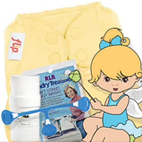 Kelly's Closet Fluff Fairy Diaper Package