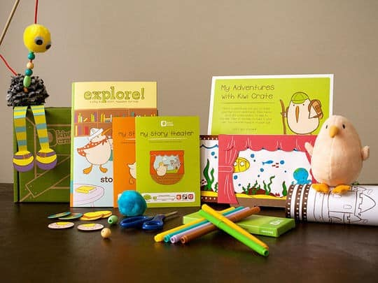 Kiwi Crate Monthly Subscription Box for Kids