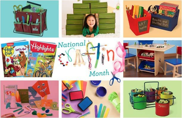 Kiwi Crate National Crafting Month Giveaway