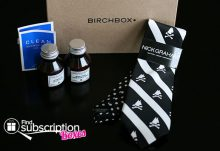 March 2014 Birchbox Man Box Review - Box Contents