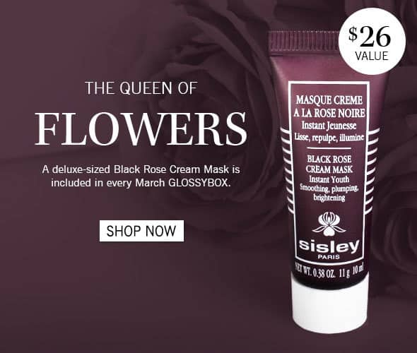 March 2014 GLOSSYBOX Spoiler Black Rose Cream Mask