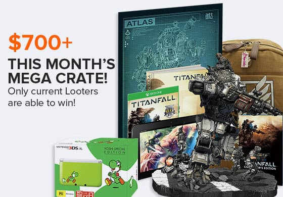 March 2014 Loot Crate Mega Crate