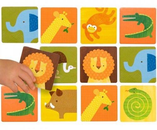 March 2014 Citrus Lane Spoiler - Petit Collage SAFARI Memory Game