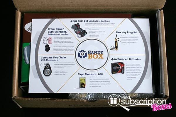 The Handy Box Review - Product Info Card