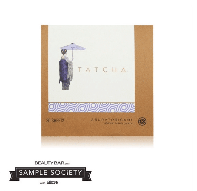 April 2014 BeautyBar Sample Society Box Spoiler - Tatcha Original Aburatorigami
