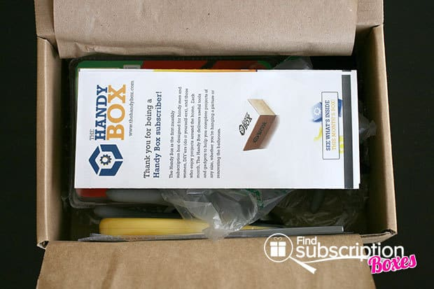 April 2014 The Handy Box Review First Look