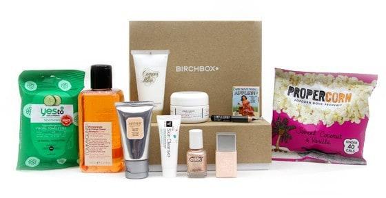 April 2014 Birchbox UK Box