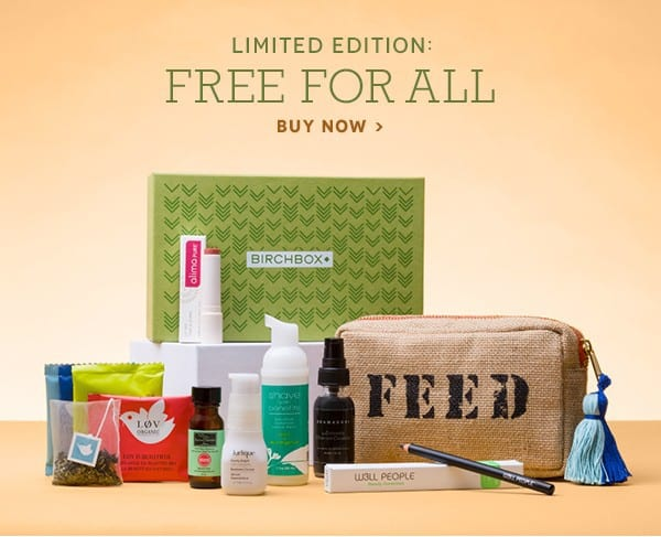 Birchbox Limited Edition: Free for All Box