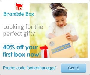 Save 40% Off Your 1st Bramble Box